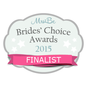 Brides Choice Awards finialist