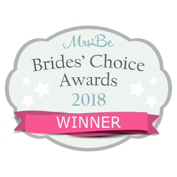 We WON! The Mrs2Be Brides' Choice Awards 2018