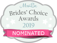 I've been nominated for a Mrs2Be Brides' Choice Award 2019!